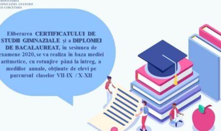 Parlamentul a adoptat Legea privind anularea examenelor naționale de absolvire a programelor de studii în învățământul general, sesiunea de examene 2020